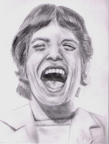 Mick Jagger por becesque